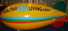 advertising blimps - 14 ft. blimp with logo from $1031.00